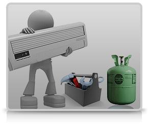 جابجایی و سرویس کولر گازی